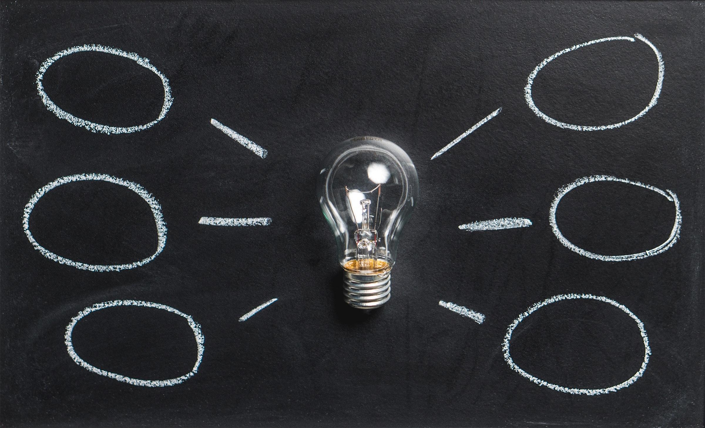 Pærer, der får ideer